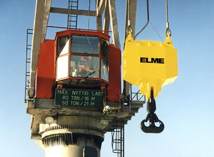 Spreader ELME CT rotateur pour spreader de grue